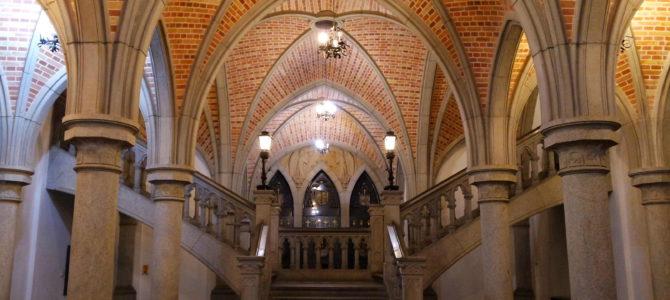 Visita à Cripta da Catedral da Sé, em São Paulo