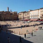 Almoço simples com a melhor vista de Siena