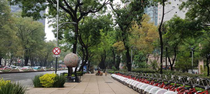 A beleza artística e histórica do Paseo de la Reforma na Cidade do México