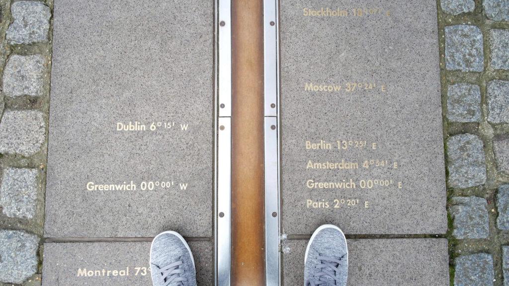 Linha do Meridiano de Greenwich