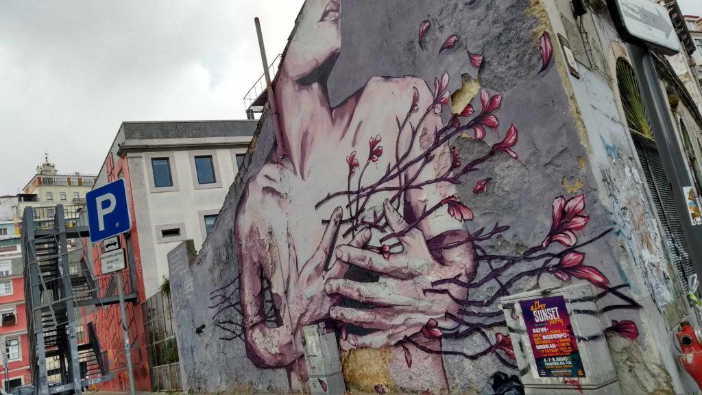 Grafite mercado da Ribeira