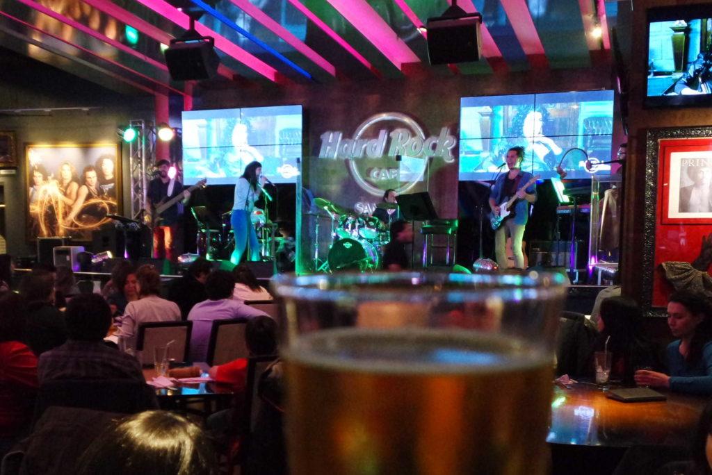 Hard Rock Café Santiago