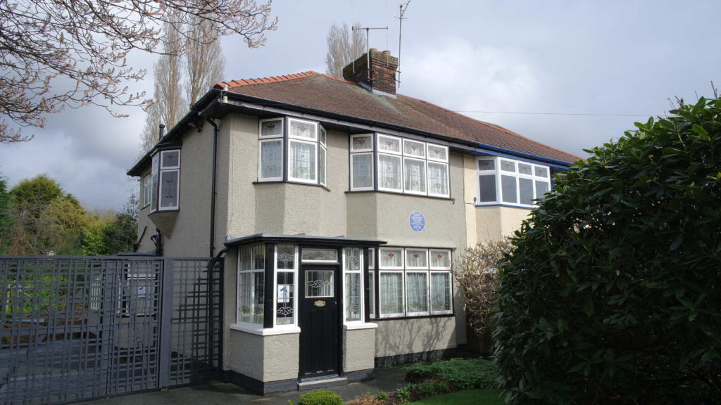 Casa onde o John Lennon cresceu