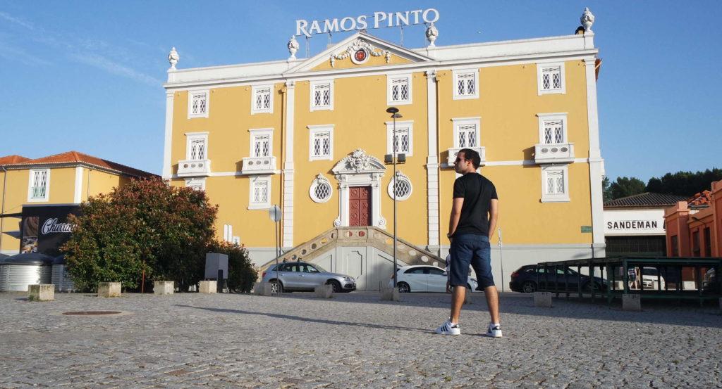 Cave da famosíssima Ramos Pinto