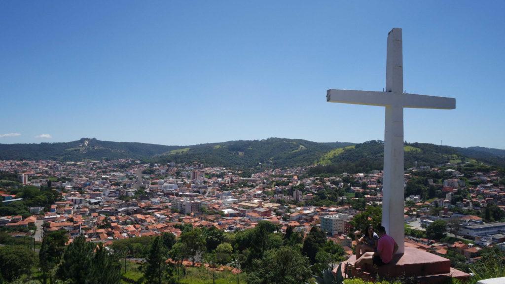 Morro do Cruzeiro, com a vista de São Roque