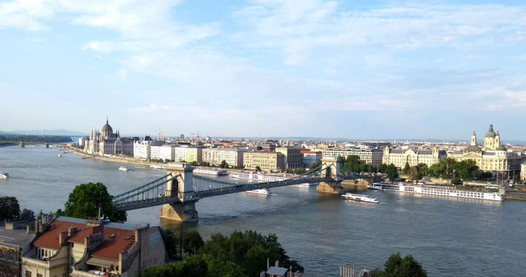 A vista de Budapeste