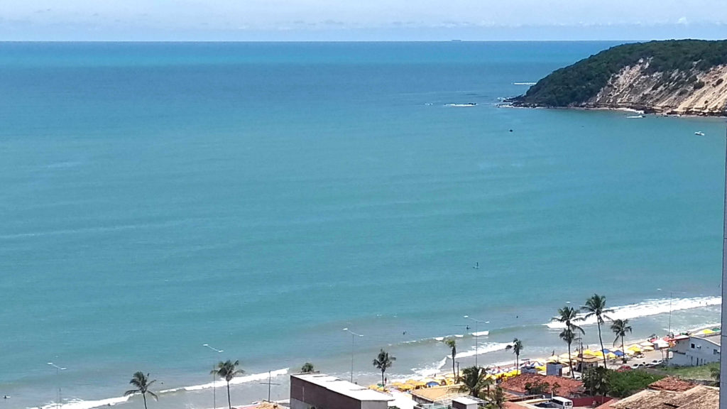 Vista do Hotel Quality para o Morro do Careca, em Natal RN
