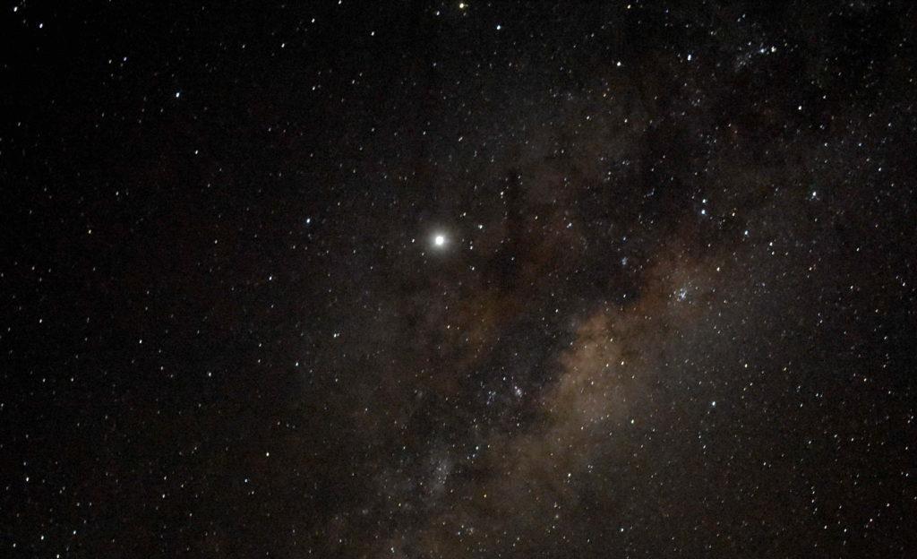 Céu estrelado no tour astronômico no Deserto do Atacama