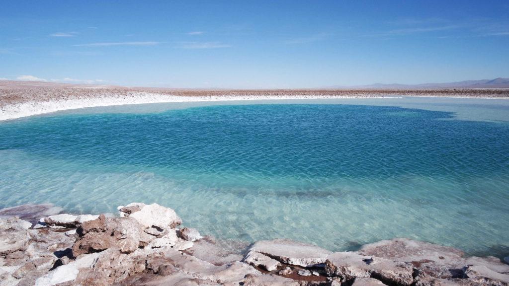 A mais bela das Lagunas Escondidas