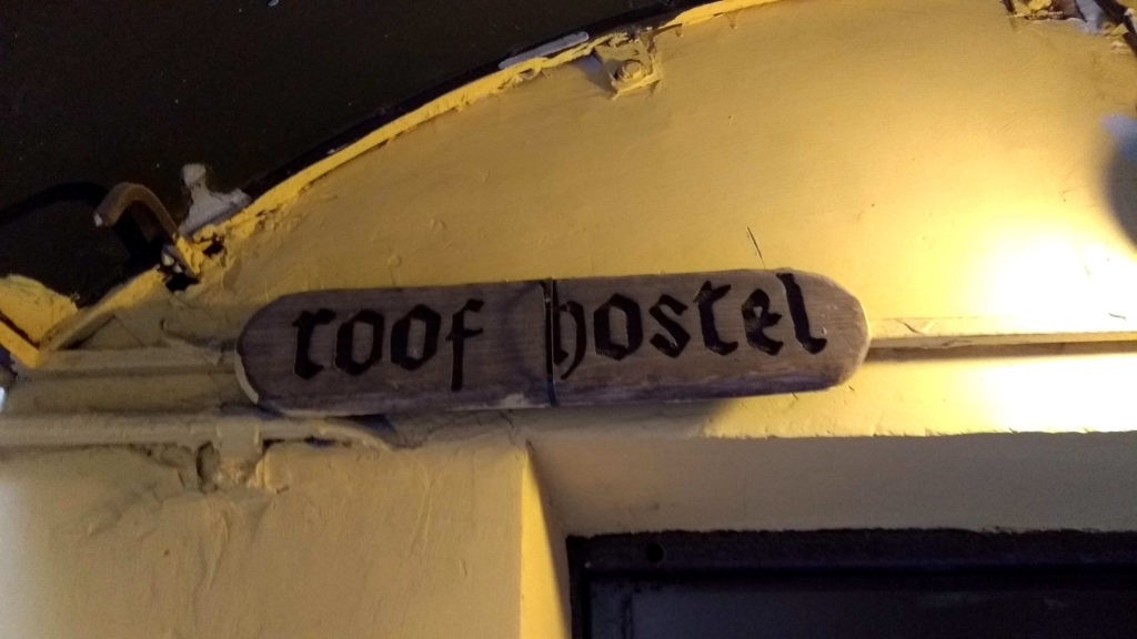 Roof hostel