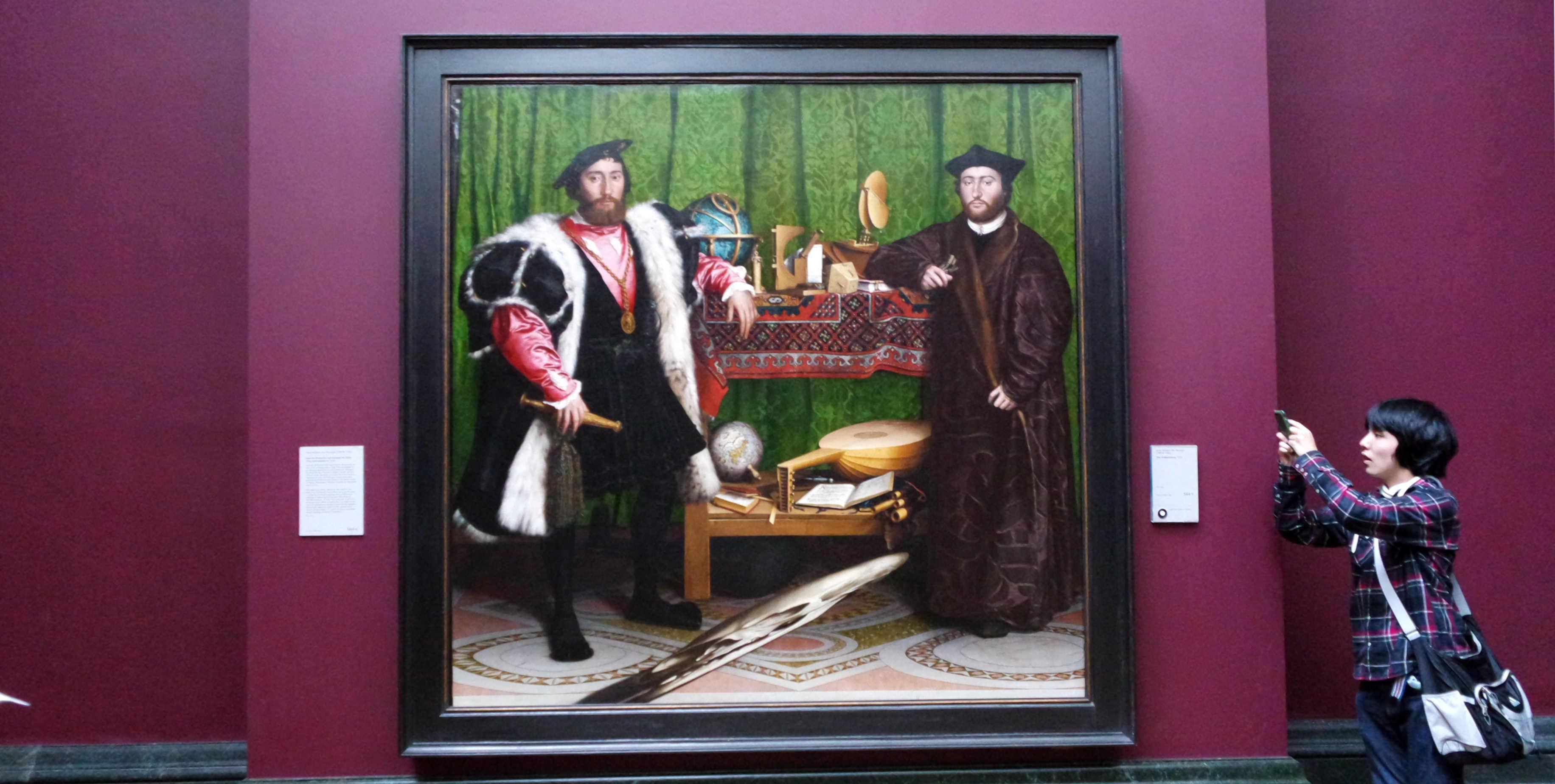 Os Embaixadores, de Holbein