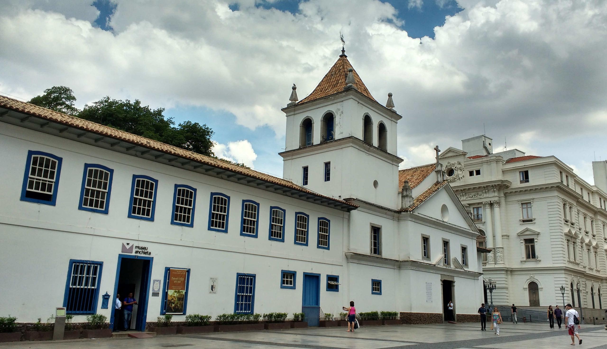 Pátio do Colégio, onde foi levantada a primeira construção de São Paulo, em 1554