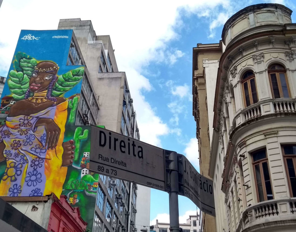 Rua Direita com José Bonifácio