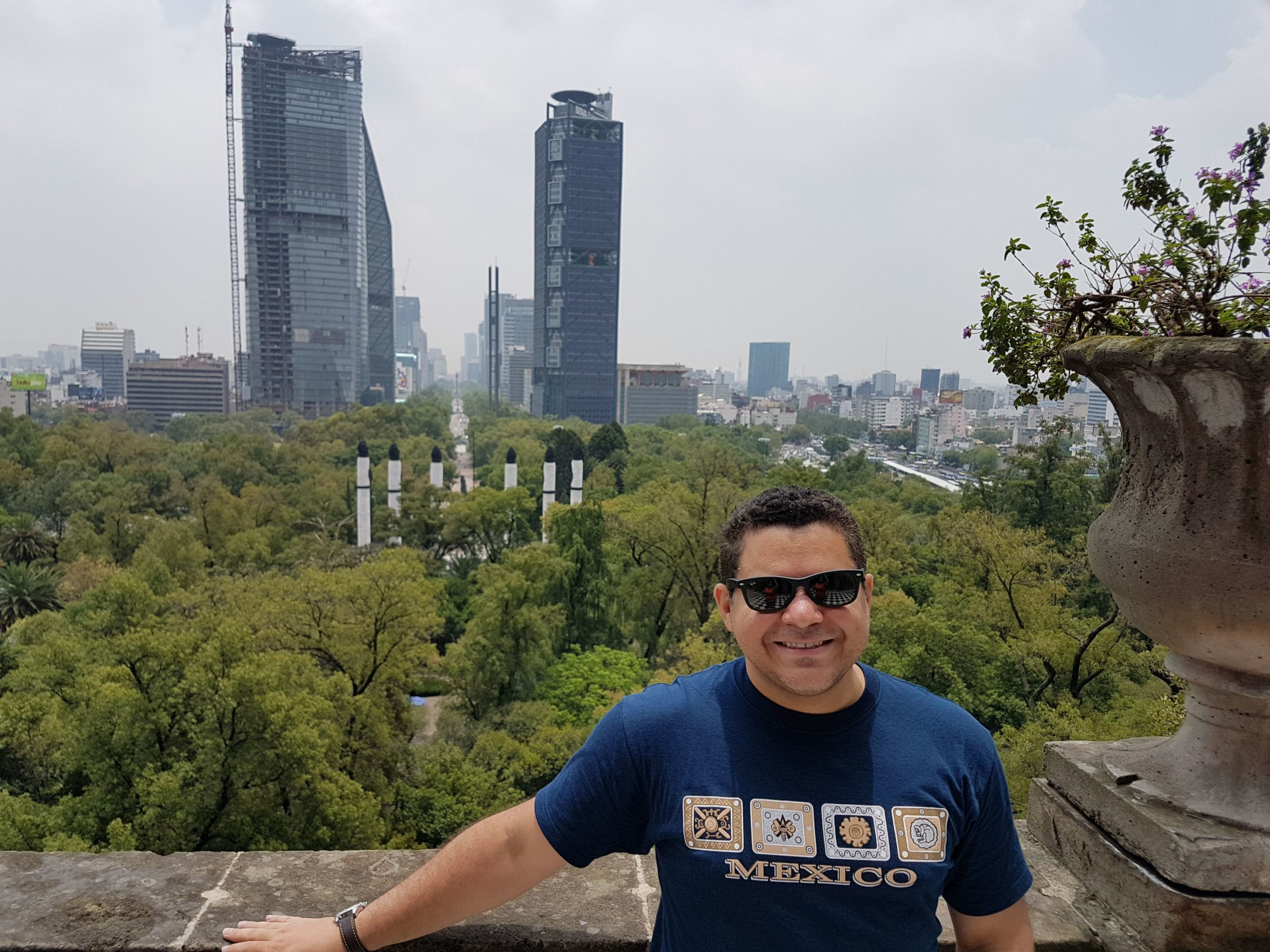 Visita ao Castelo de Chapultepec em CDMX