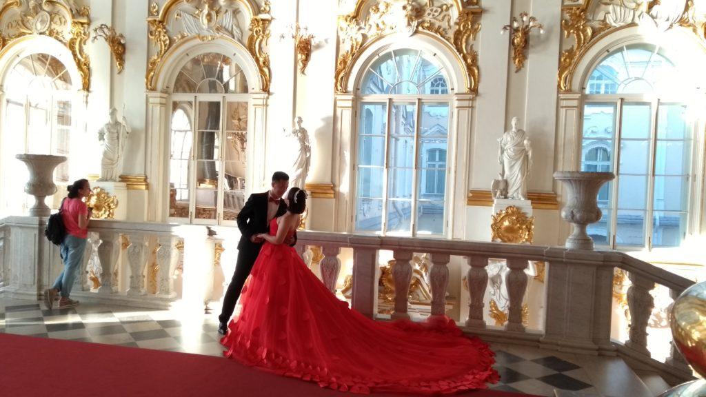 Ensaio de casamento na escadaria Jordan
