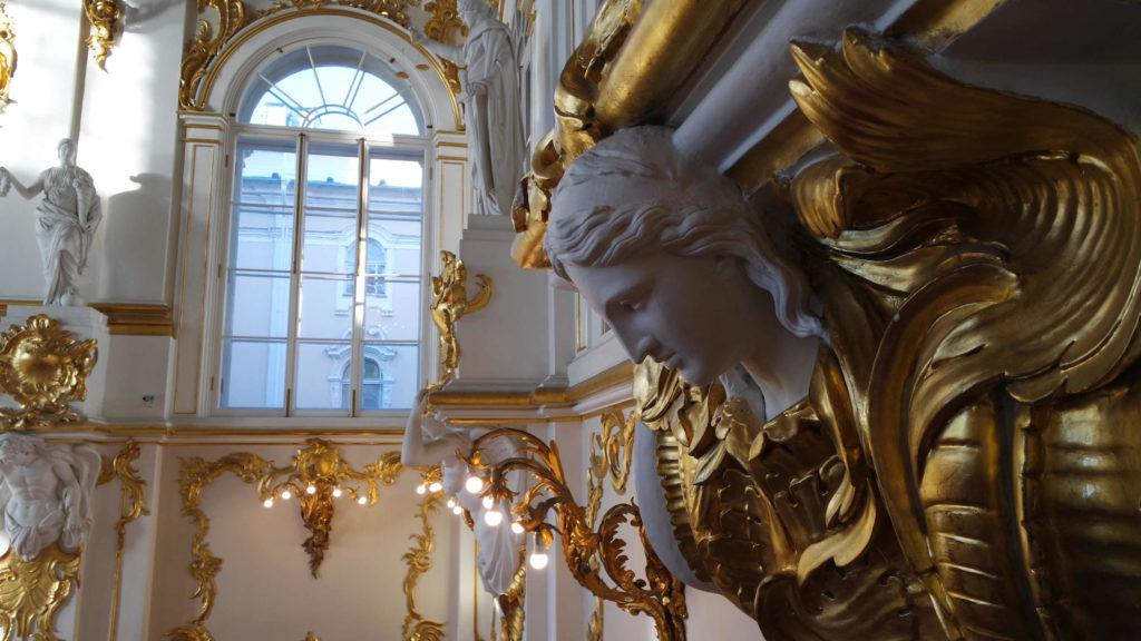 Estátua na Escadaria Jordan