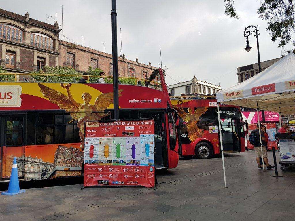 Ônibus turístico da Cidade do México