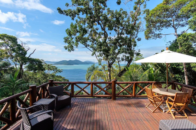 5 airbnb incríveis para família no litoral paulista