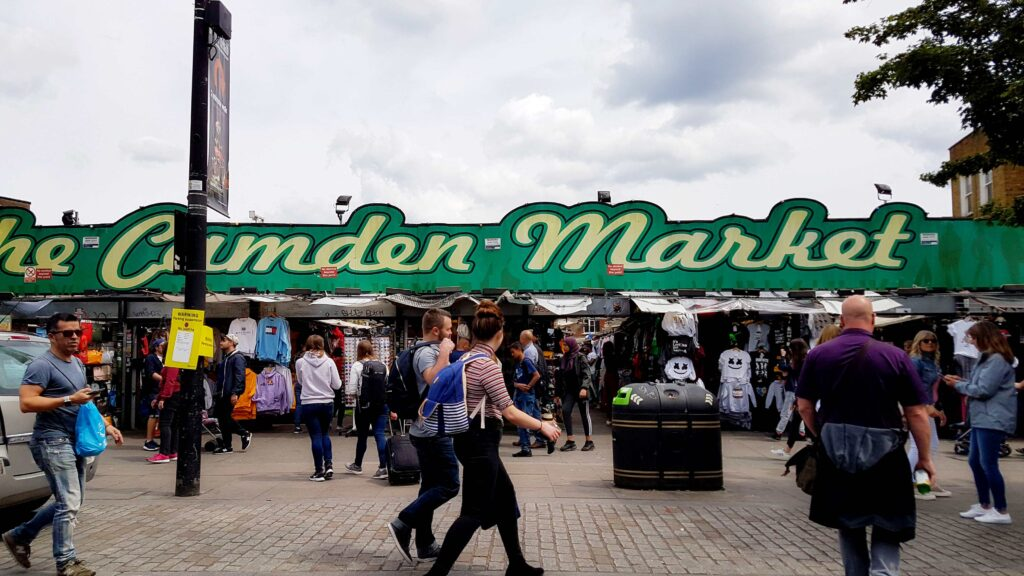 Andando por Camden Town – o mercado alternativo de Londres