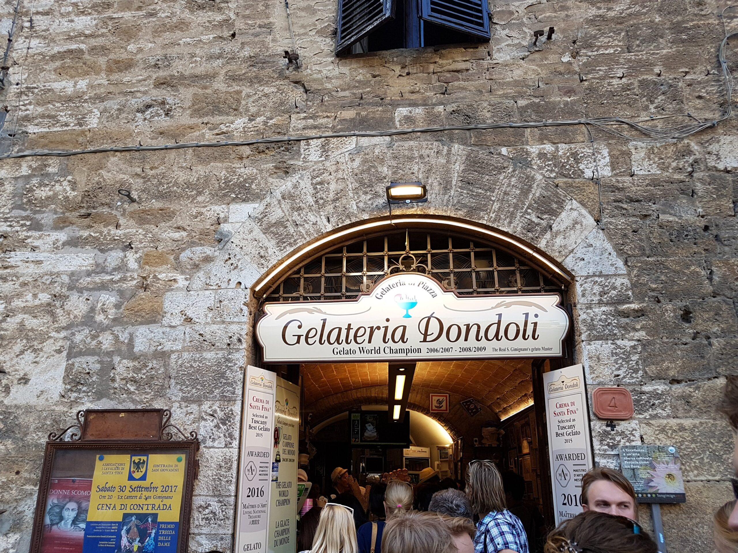 Na Toscana, experimente um dos melhores gelatos do mundo – Dondoli!