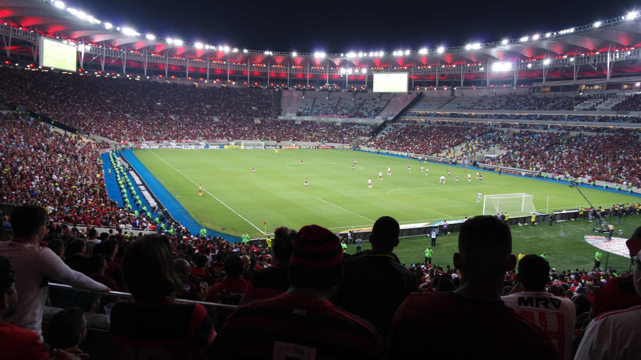 Jogo do Flamengo no Estádio do Maracanã